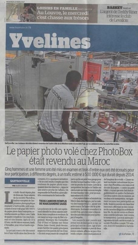 LE PARISIEN PHOTOBOX